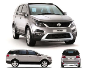 On Road Price of Tata Hexa in Gurgoan
